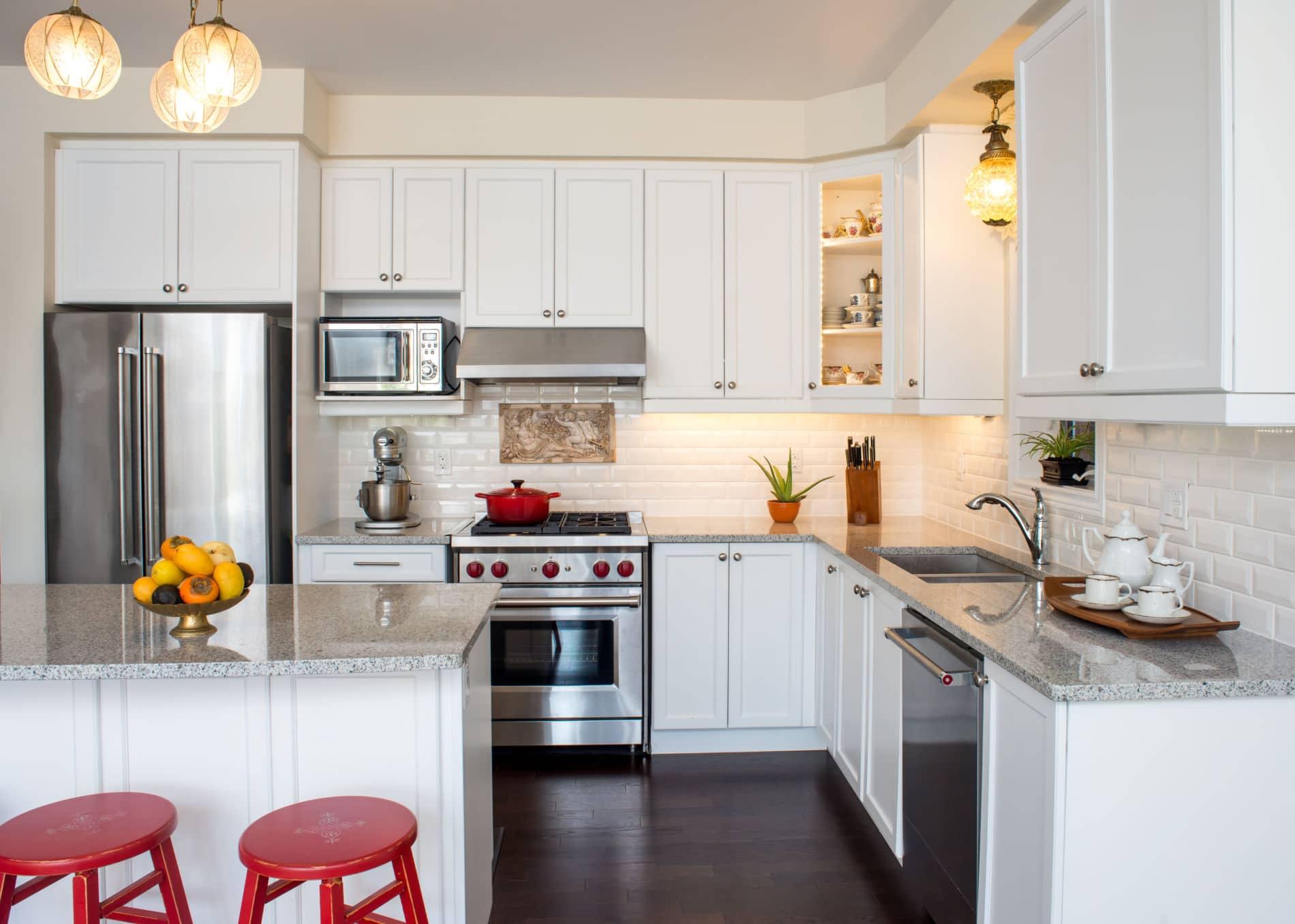 דגם סימפל קלאסיק ווד מטבח באיכות גבוהה