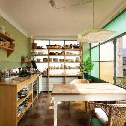 מטבח כפרי יפה (1)
