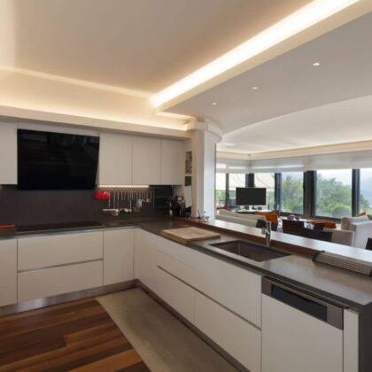 מטבח מעוצב מודרני דאיכות גבוהה דגם TIV