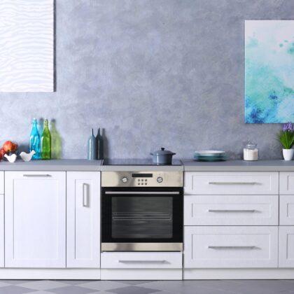 מטבח מודרני עם ציורי קיר דגם 12 DS