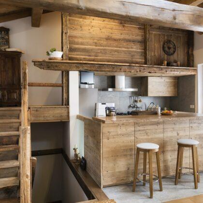 מטבח כפרי מעץ דגם 32 sequoia
