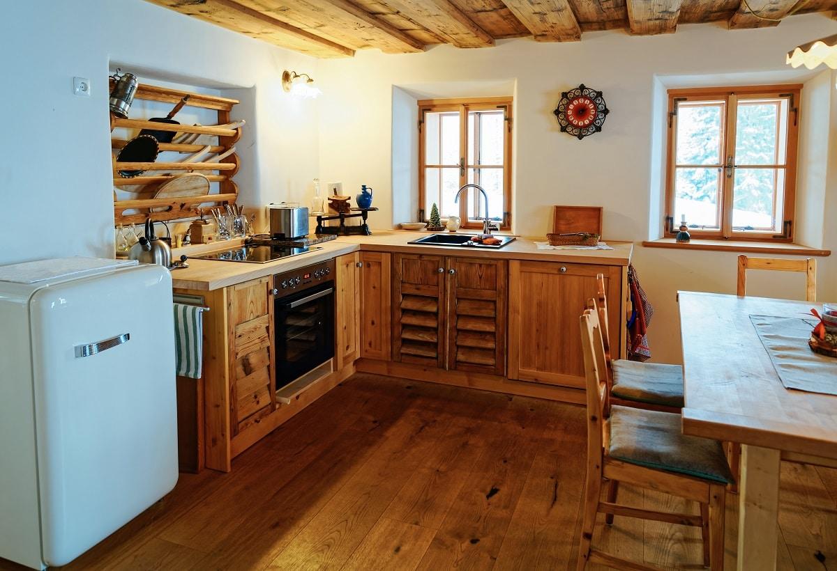 מטבח עץ דגם 40 sequoia בכפר