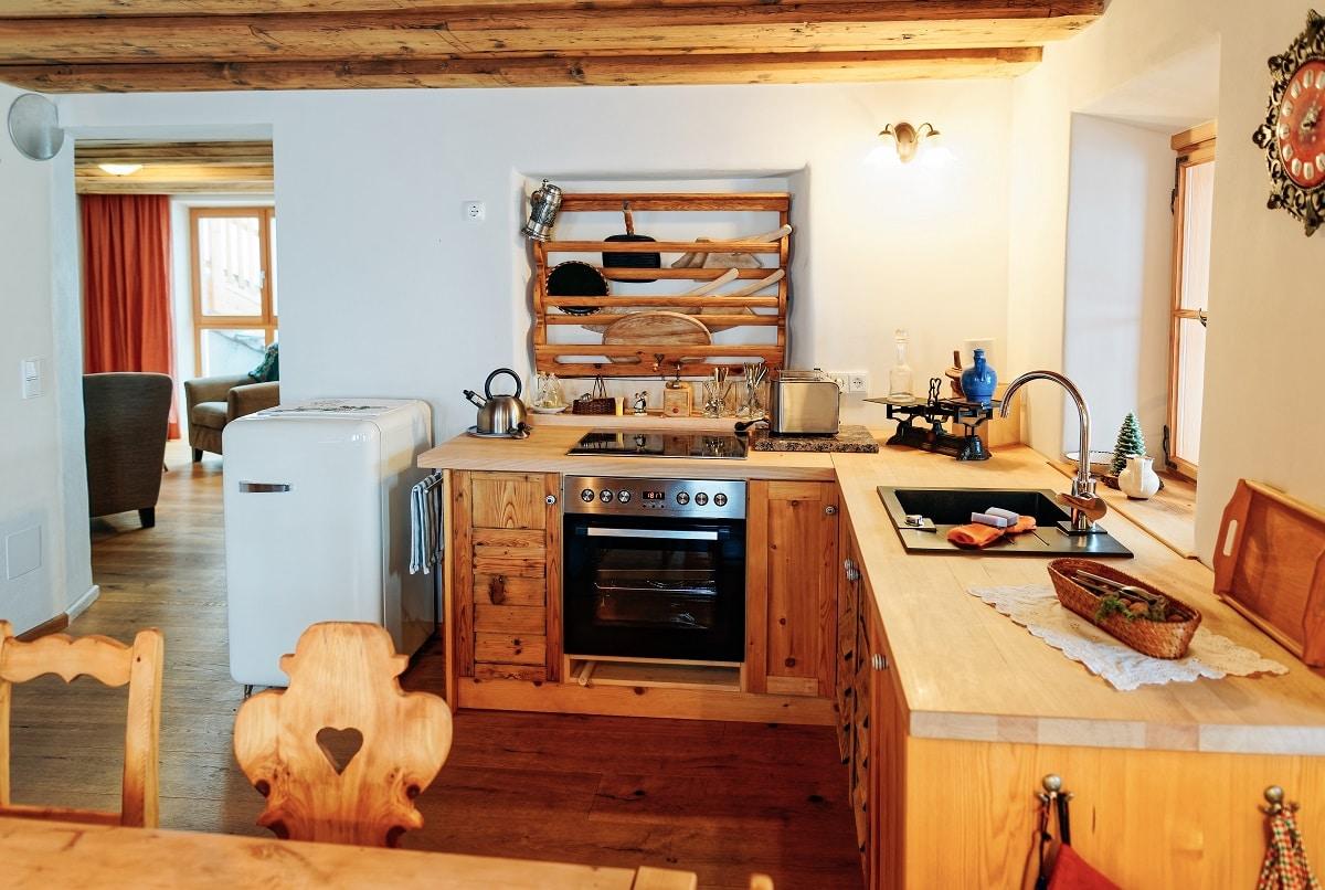 מטבח עשוי עץ דגם 50 sequoia