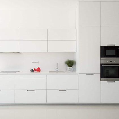 מטבח קלאסי לבן לחלוטין דגם 49 Diana