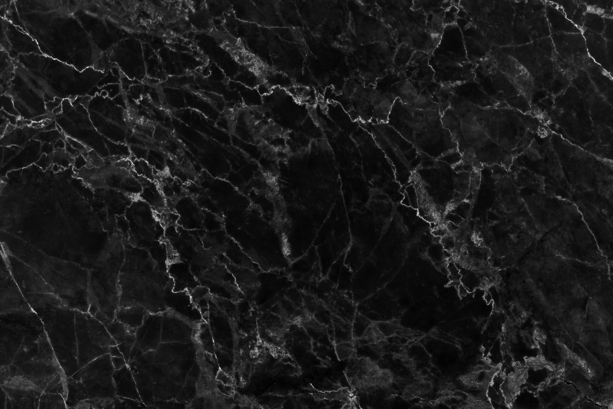 שיש שחור עם קווים לבנים דגם 12 Caesar