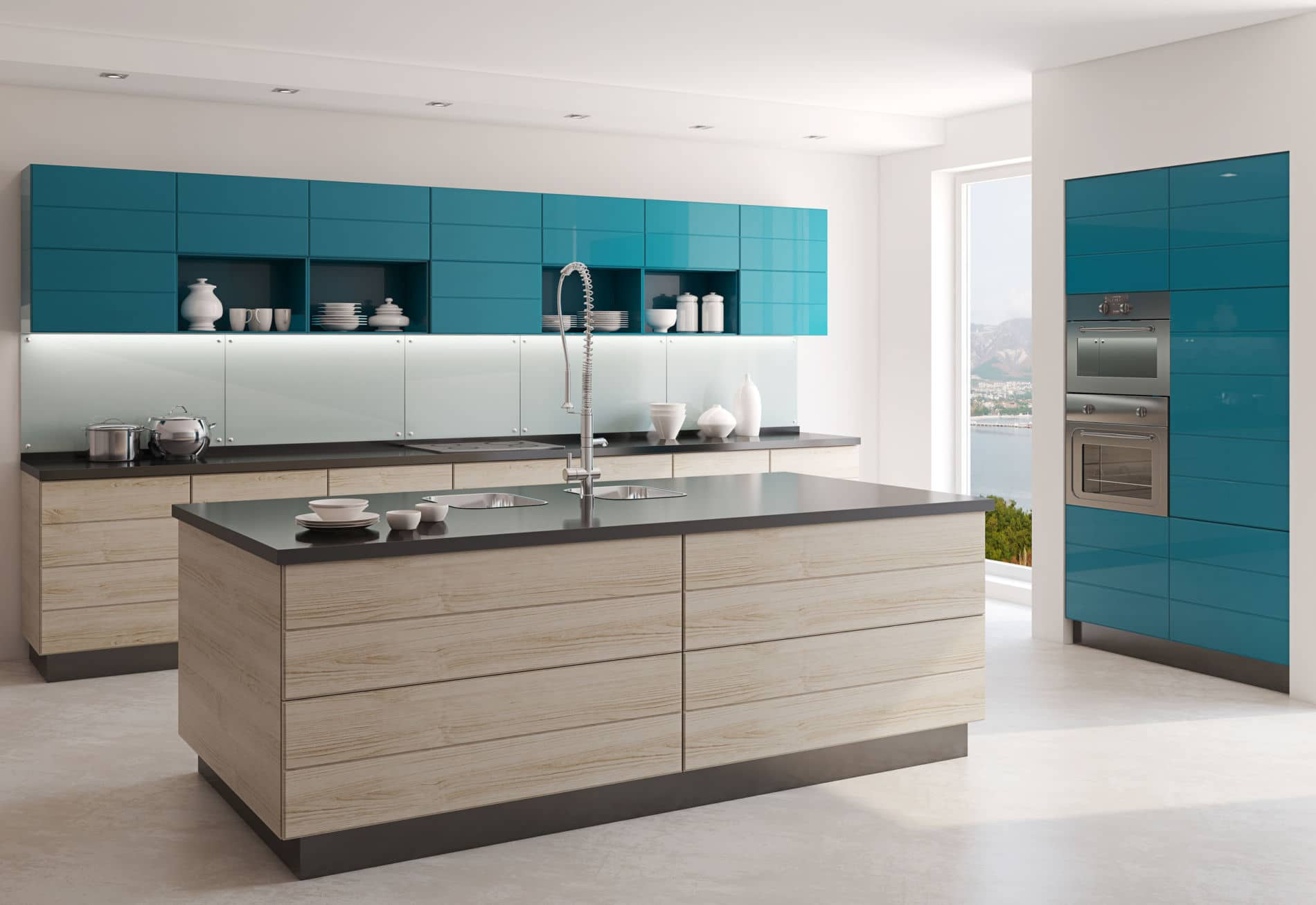 מטבח בעיצוב מודרני - מטבחים מודרניים באיכות גבוהה