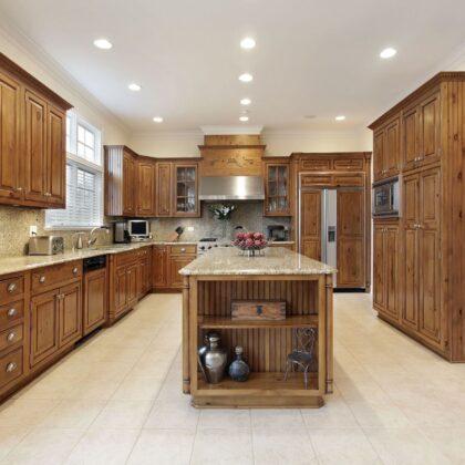 מטבח דגם סגנון פרובנס - מטבח מעץ ברמה גבוהה