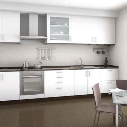 עיצוב מטבחים דגם משולב בקו נקי