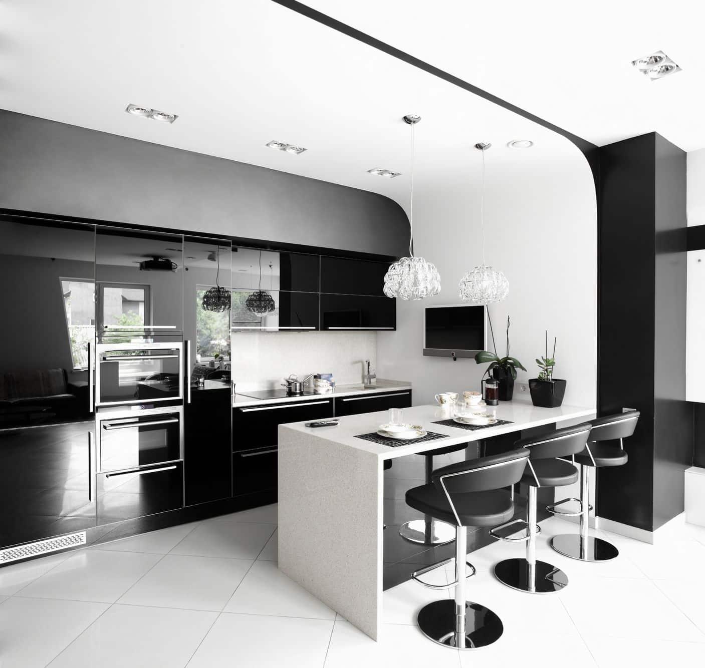 עיצוב מטבחים דגם יוקרתי בסגנון מודרני