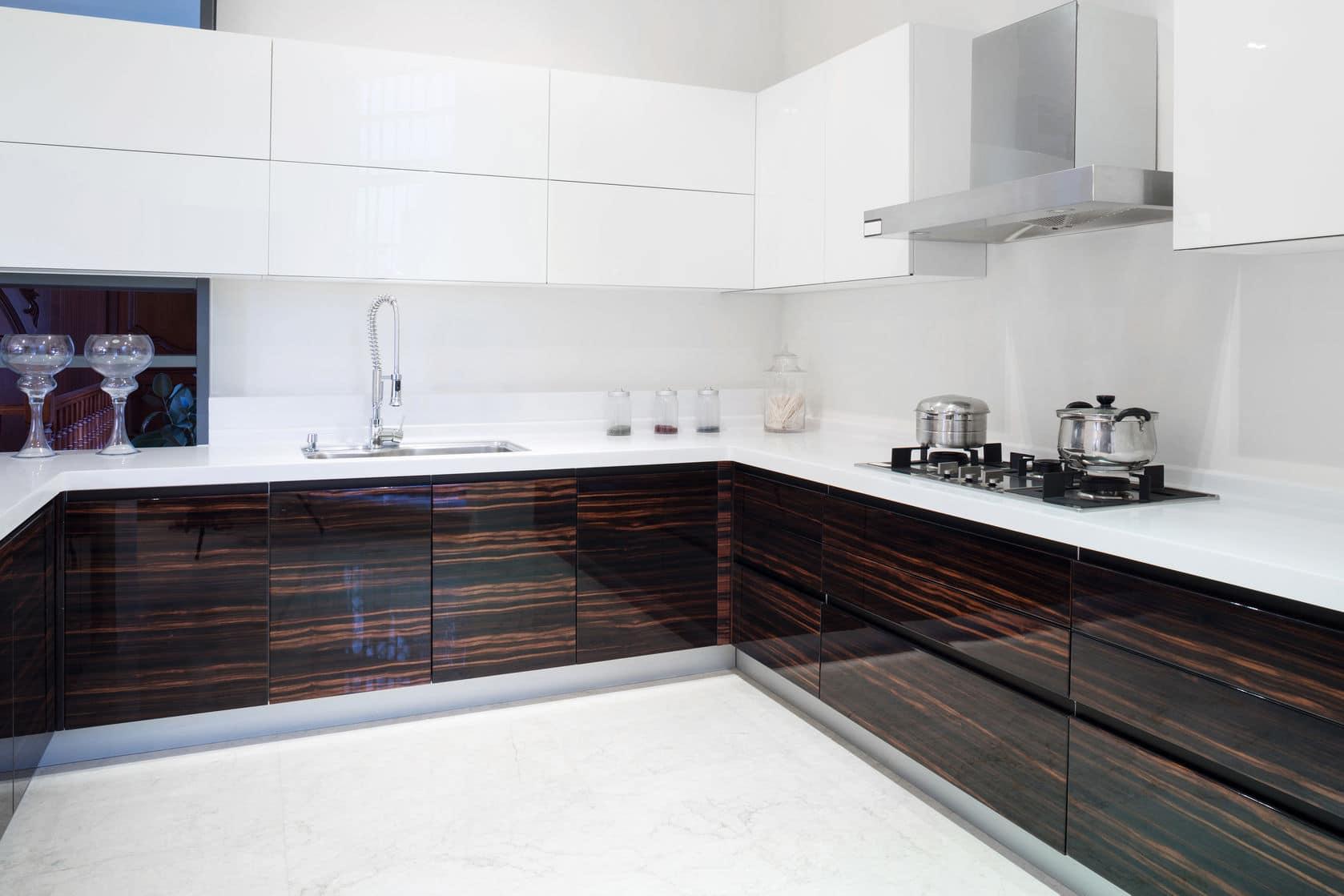 מטבח מודרני דגם יהלום ברמה גבוהה