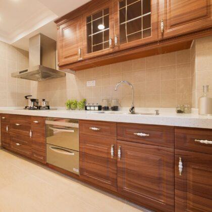 מטבח מעץ מלא דגם פורניר KitchenPT.com