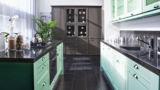 מטבח בצבע ירוק דגם ההורמוניה