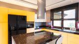 מטבח מודרני דגם פנלופה דגם צהוב