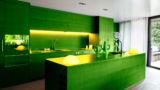 מטבח איכותי בצבע ירוק באיכות גבוהה