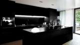 מטבח בצבע שחור מלא