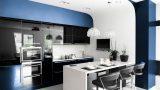 מטבח מושלם בצבע כחול