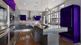מטבח בצבע סגול