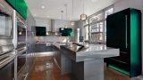 מטבח בצבע ירוק ברמה גבוהה